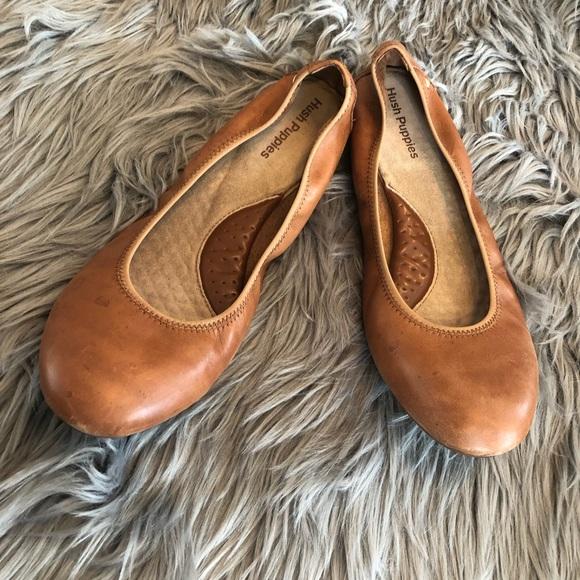 bc6a816d2c0bc Hush Puppies Shoes - Hush puppies. Tan. Size 11 women's flats.